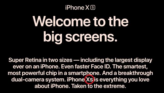 Viết iPhone XS hay Xs mới đúng chuẩn sách giáo khoa để không bị quê? - Ảnh 1.