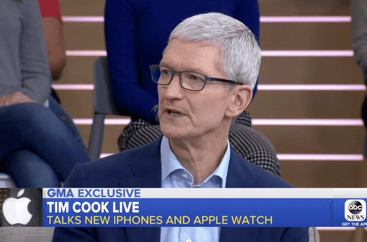 Tim Cook thừa nhận iPhone XS đắt, nhưng xắt ra miếng - Ảnh 1.