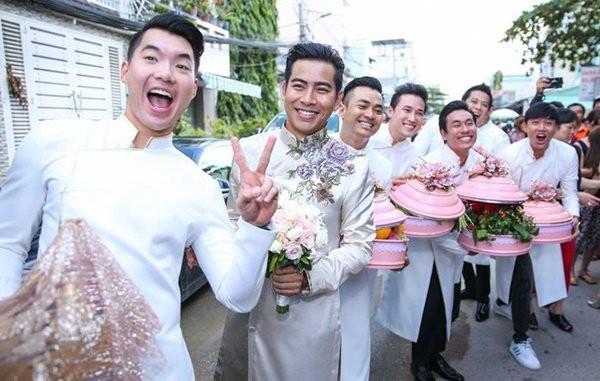 Những dàn phù dâu, phù rể toàn trai xinh gái đẹp khiến đám cưới của sao Việt hot hơn bao giờ hết - Ảnh 15.