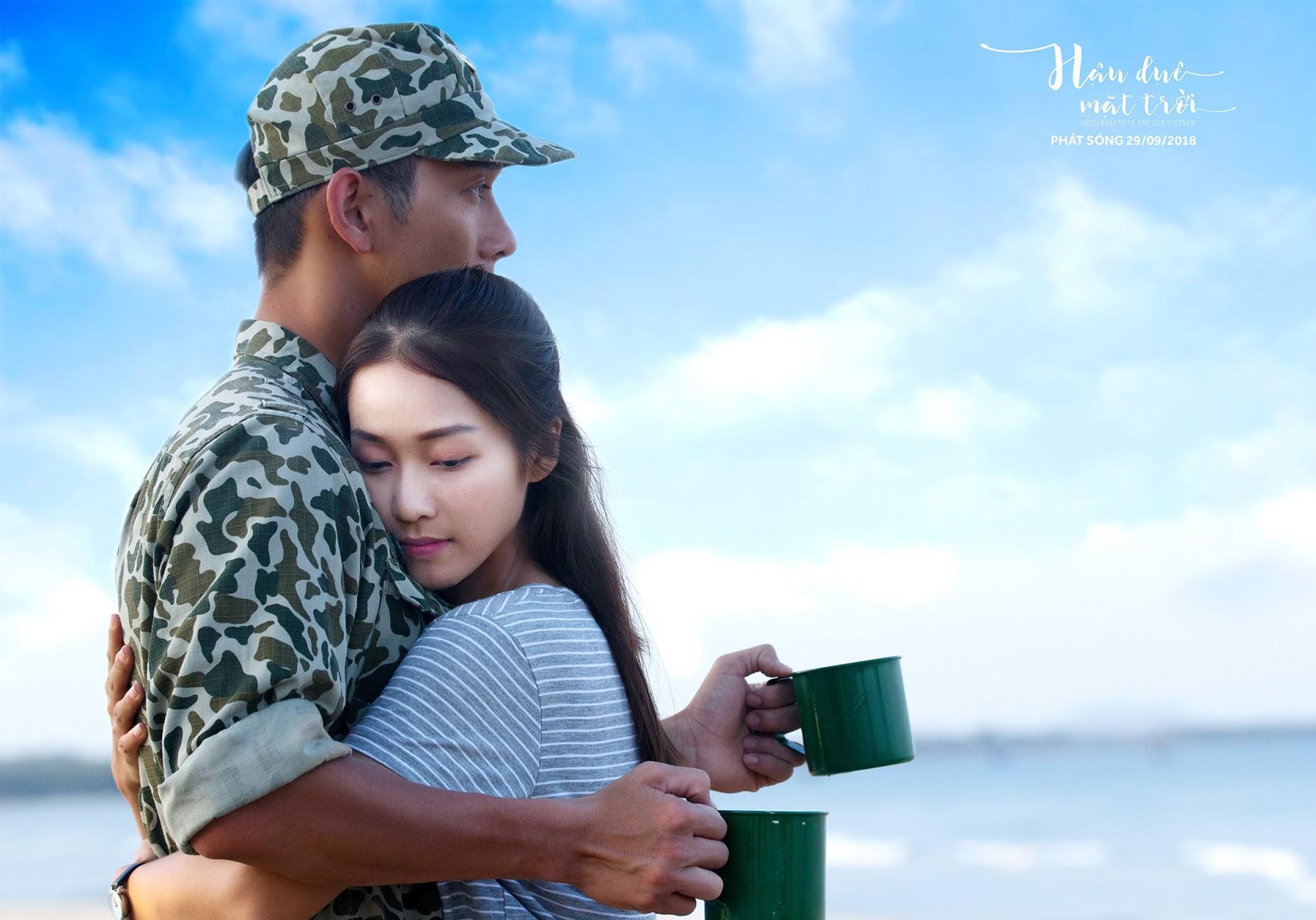 Hậu Duệ Mặt Trời bản Việt trước ngày lên sóng: Ảnh trang phục quân nhân