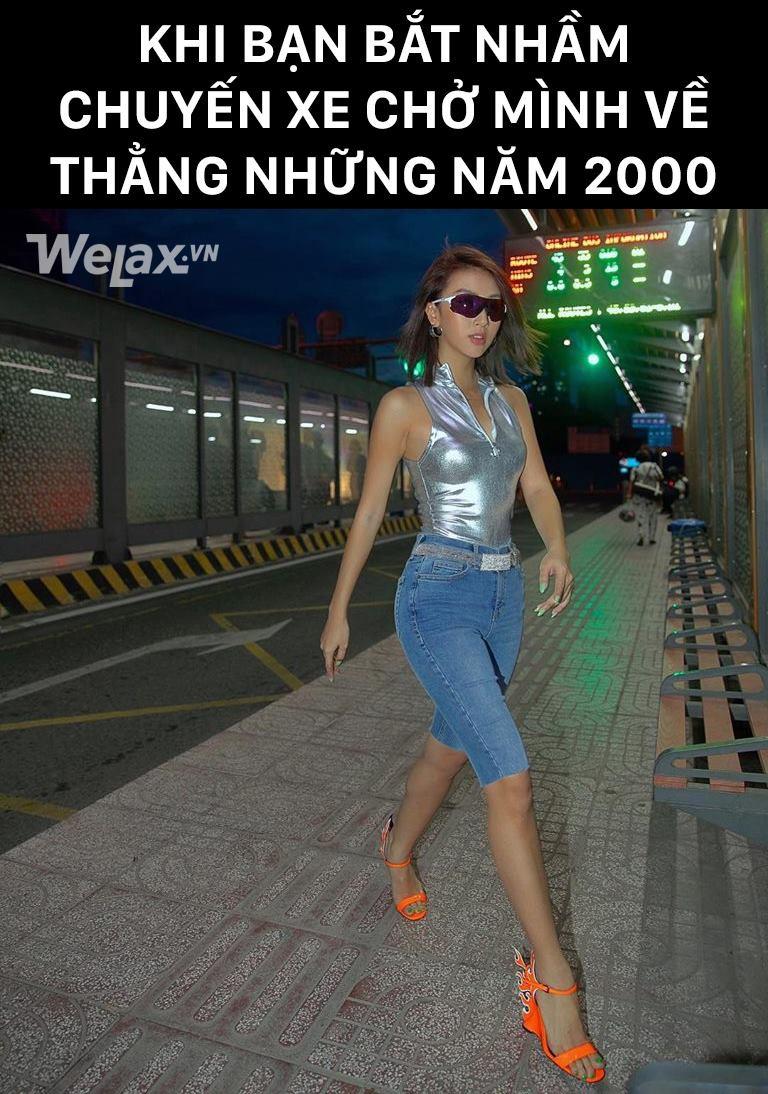 Xin chào, Quỳnh Anh Shyn mời bạn lên chuyến xe du hành ngược thời gian với phong cách thời trang những năm 2000 - Ảnh 4.