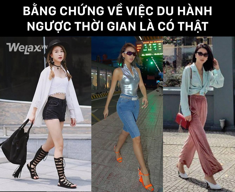 Xin chào, Quỳnh Anh Shyn mời bạn lên chuyến xe du hành ngược thời gian với phong cách thời trang những năm 2000 - Ảnh 6.