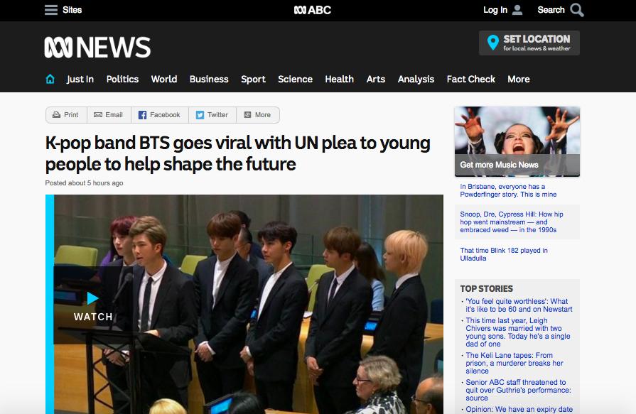 CNN, BBC và loạt báo đài quốc tế lớn ấn tượng trước bài phát biểu của BTS tại LHQ: 7 chàng trai đã làm nên lịch sử! - Ảnh 2.