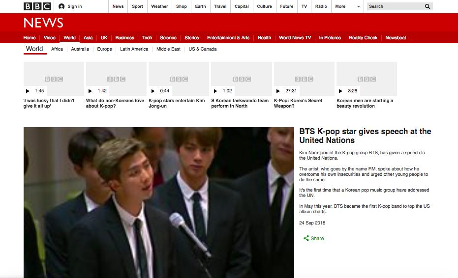 CNN, BBC và loạt báo đài quốc tế lớn ấn tượng trước bài phát biểu của BTS tại LHQ: 7 chàng trai đã làm nên lịch sử! - Ảnh 3.