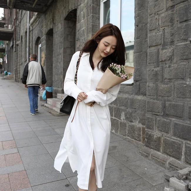 15 set đồ đến từ street style Châu Á sẽ cho bạn phong cách chuẩn quý cô thanh lịch - Ảnh 13.