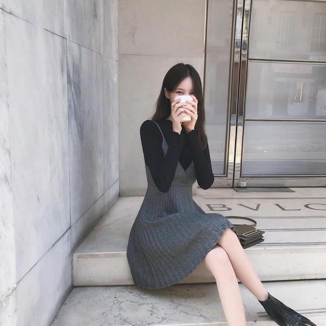 15 set đồ đến từ street style Châu Á sẽ cho bạn phong cách chuẩn quý cô thanh lịch - Ảnh 14.