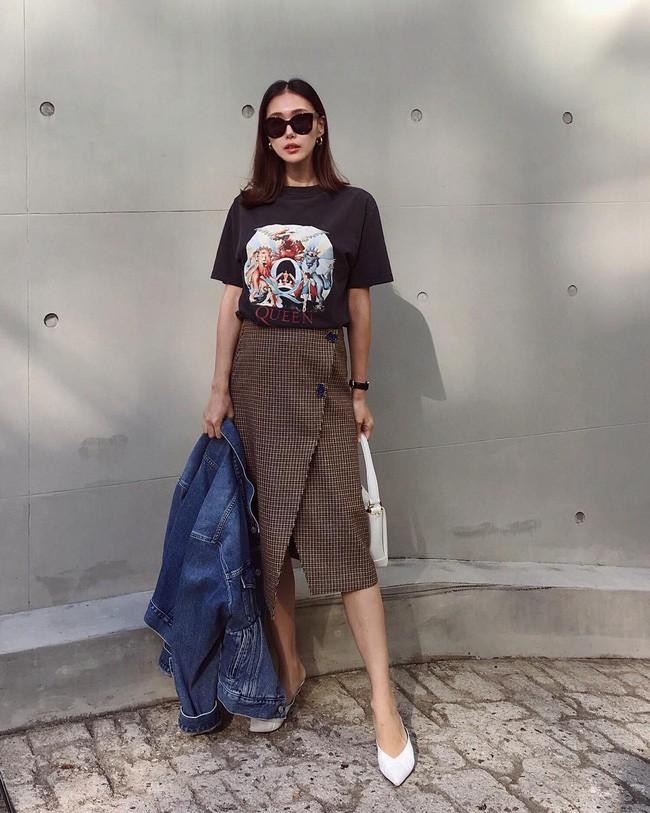 15 set đồ đến từ street style Châu Á sẽ cho bạn phong cách chuẩn quý cô thanh lịch - Ảnh 10.