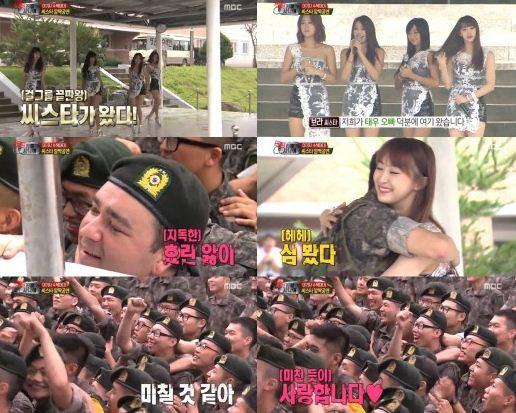 Các nhóm nữ Hàn Quốc được chào đón như thế nào trong show thực tế về quân đội? - Ảnh 10.