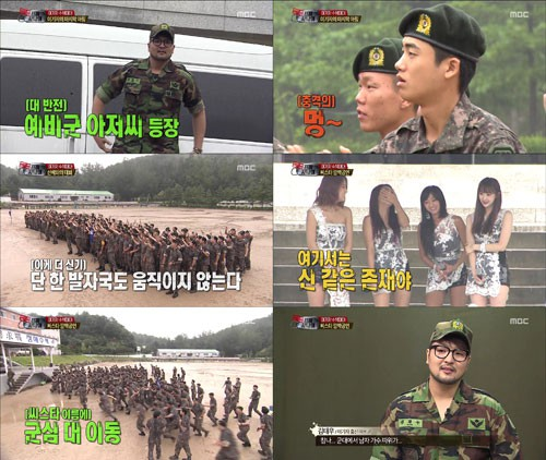 Các nhóm nữ Hàn Quốc được chào đón như thế nào trong show thực tế về quân đội? - Ảnh 11.
