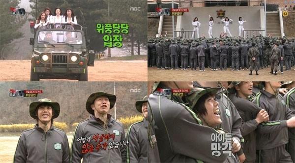 Các nhóm nữ Hàn Quốc được chào đón như thế nào trong show thực tế về quân đội? - Ảnh 12.