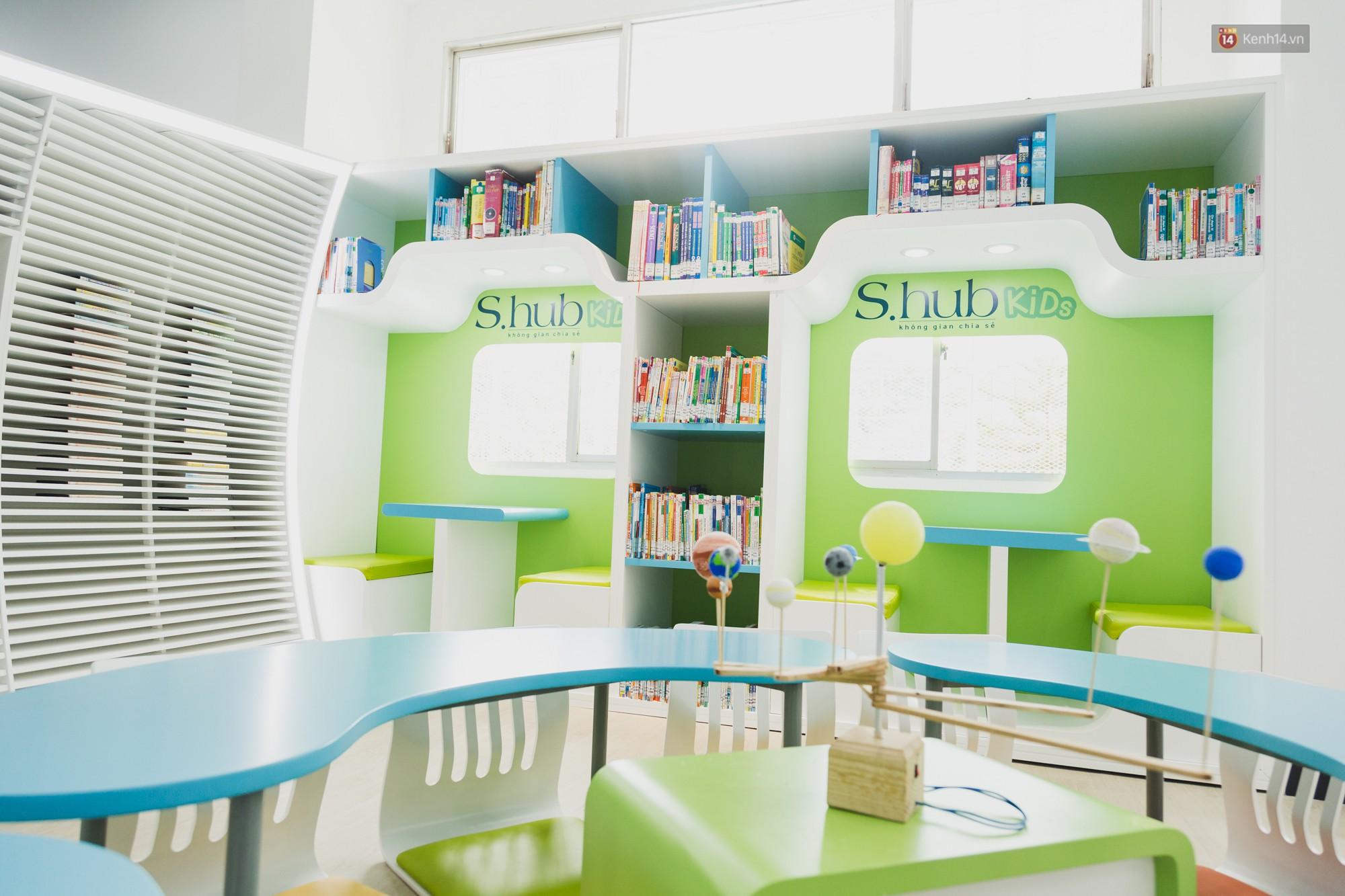 Thư viện thông minh đầu tiên dành cho thiếu nhi ở TP.HCM: Đẹp như sân chơi, có cả ngàn đầu sách và lên hình siêu ảo - Ảnh 18.