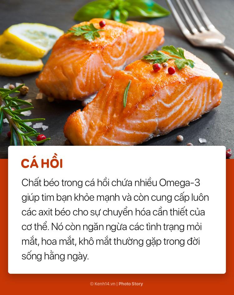 Cá hồi, trứng và những loại thực phẩm giàu chất béo cực tốt cho sức khỏe - Ảnh 1.