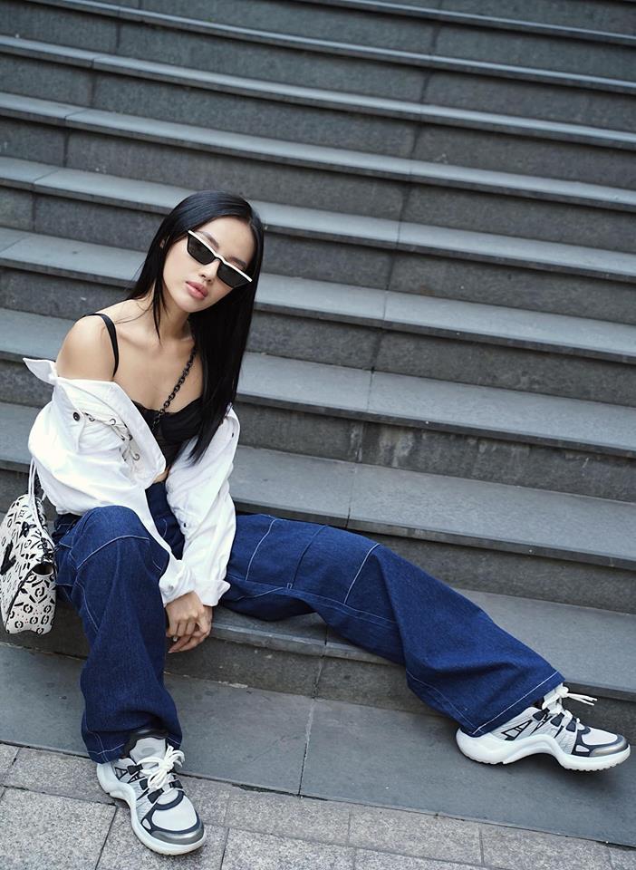 Thu mới vừa chớm mà dàn hot girl Việt đã khoe 1001 kiểu street style, kiểu nào cũng dát đầy hàng hiệu! - Ảnh 5.