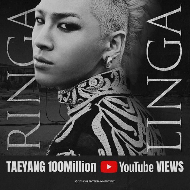 """Bị G-Dragon """"qua mặt"""" hồi đầu tháng, TaeYang liền lập thành tích ngang bằng với người đồng đội - Ảnh 2."""