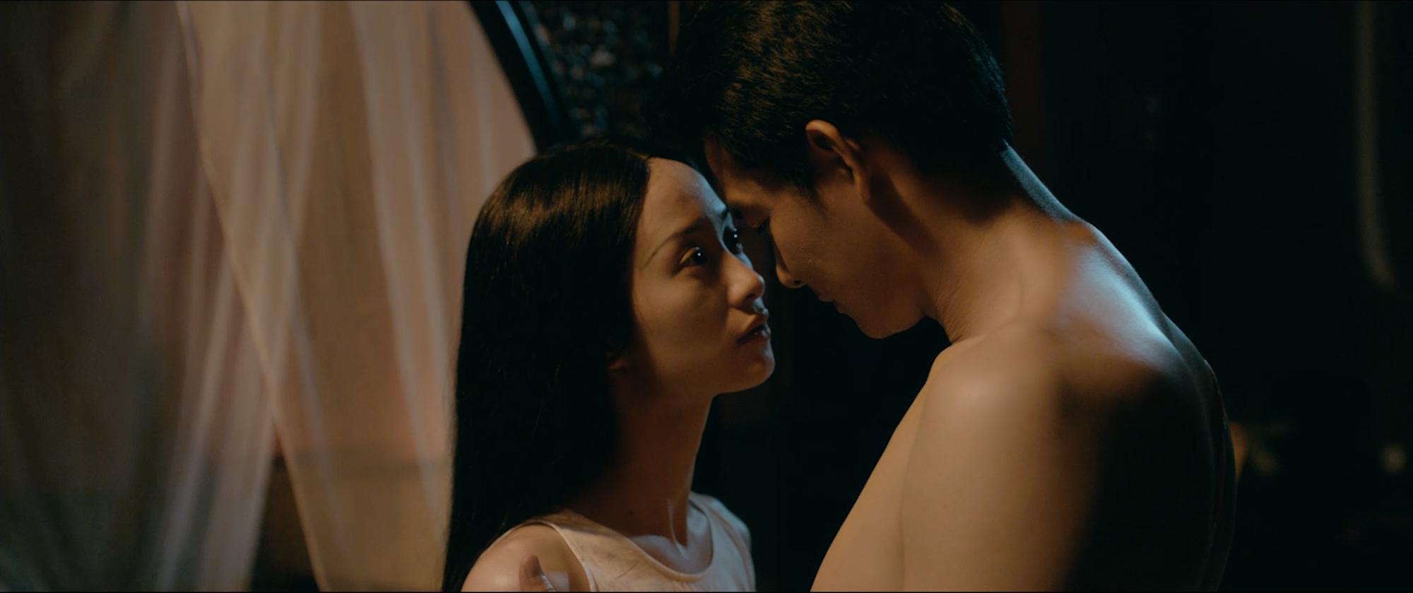 Jun Vũ tập hát ả đào, thoải mái đóng cảnh nóng trong Người Bất Tử - Ảnh 13.