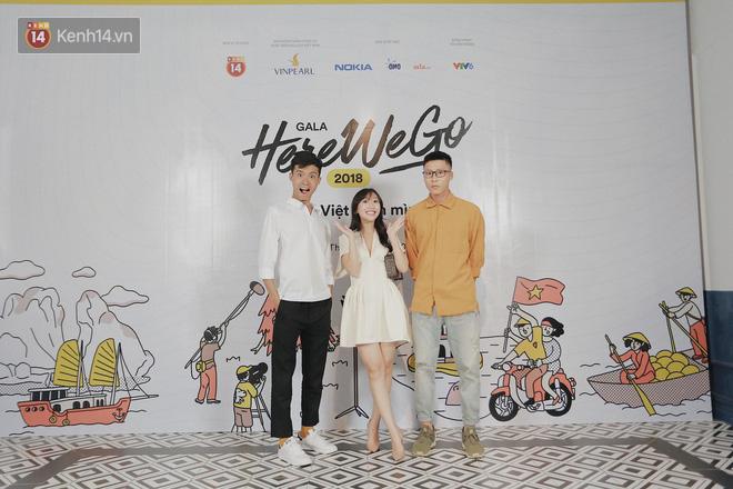 Jolie Nguyễn bất ngờ kín đáo, Hương Giang mặc váy bodycon sexy chết người trong đêm Gala Here We Go 2018 - Ảnh 7.