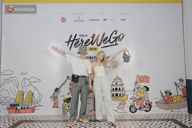 Jolie Nguyễn bất ngờ kín đáo, Hương Giang mặc váy bodycon sexy chết người trong đêm Gala Here We Go 2018 - Ảnh 2.