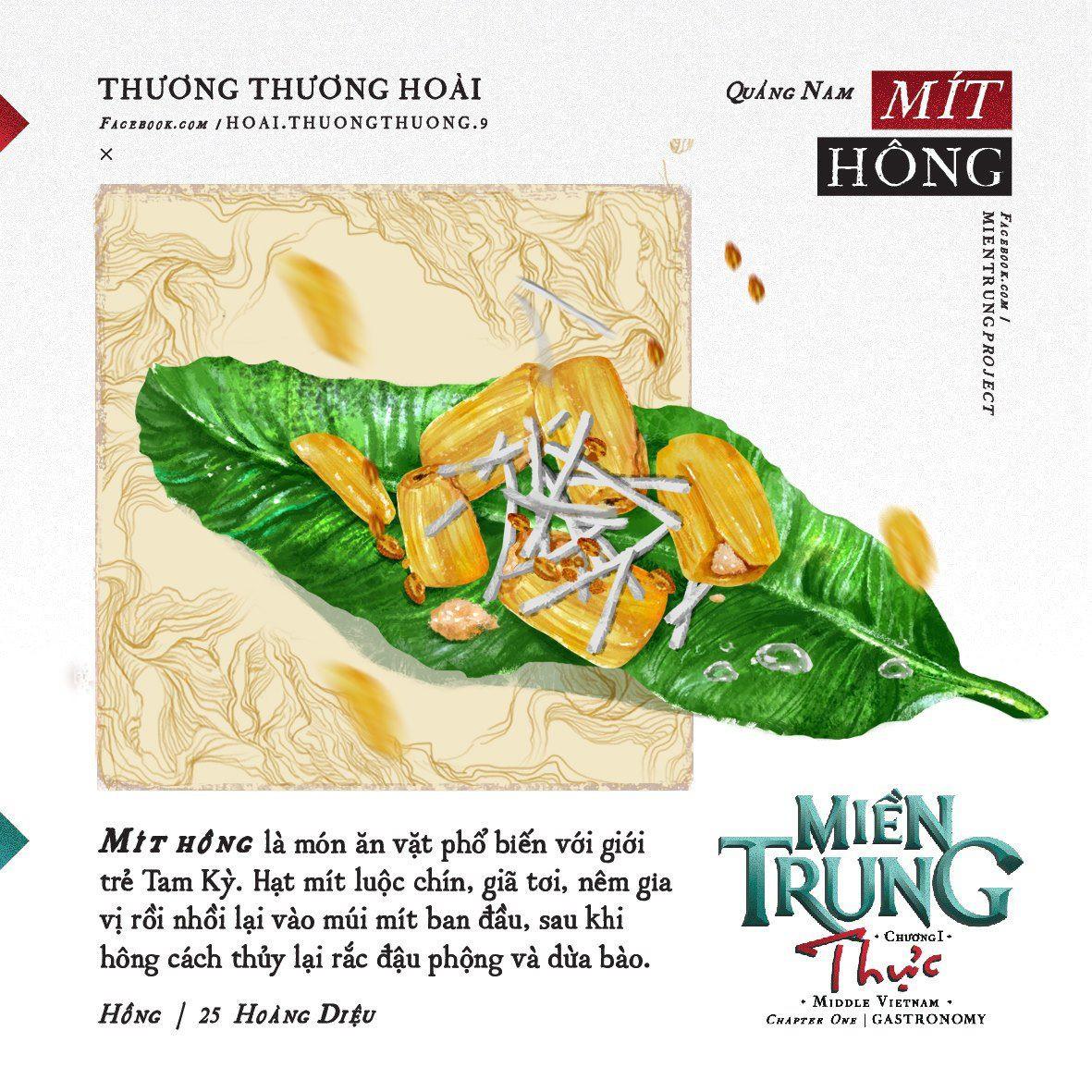 Ấn tượng với những món ăn của khúc ruột miền Trung Quảng Nam qua bộ tranh dễ thương - Ảnh 2.