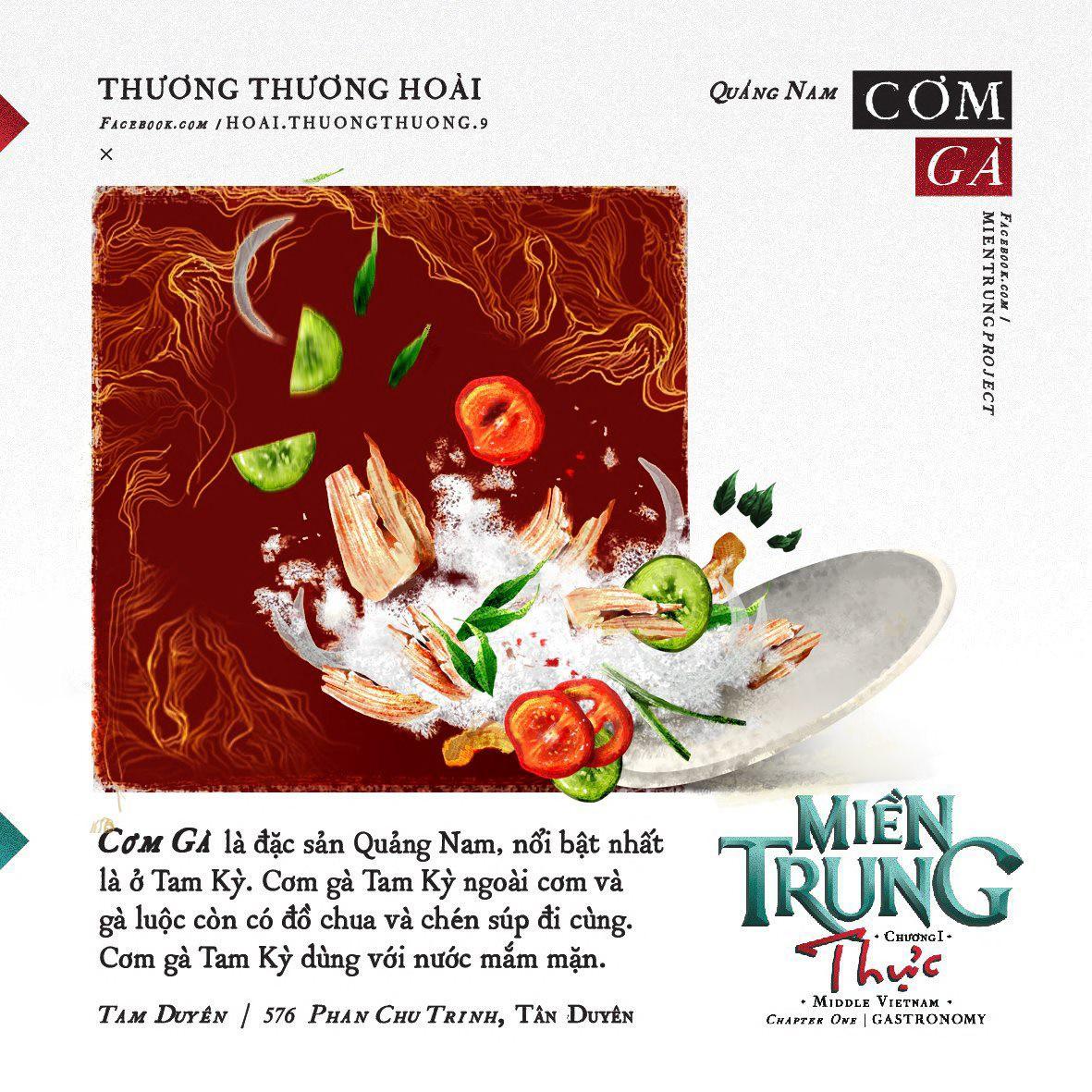 Ấn tượng với những món ăn của khúc ruột miền Trung Quảng Nam qua bộ tranh dễ thương - Ảnh 4.