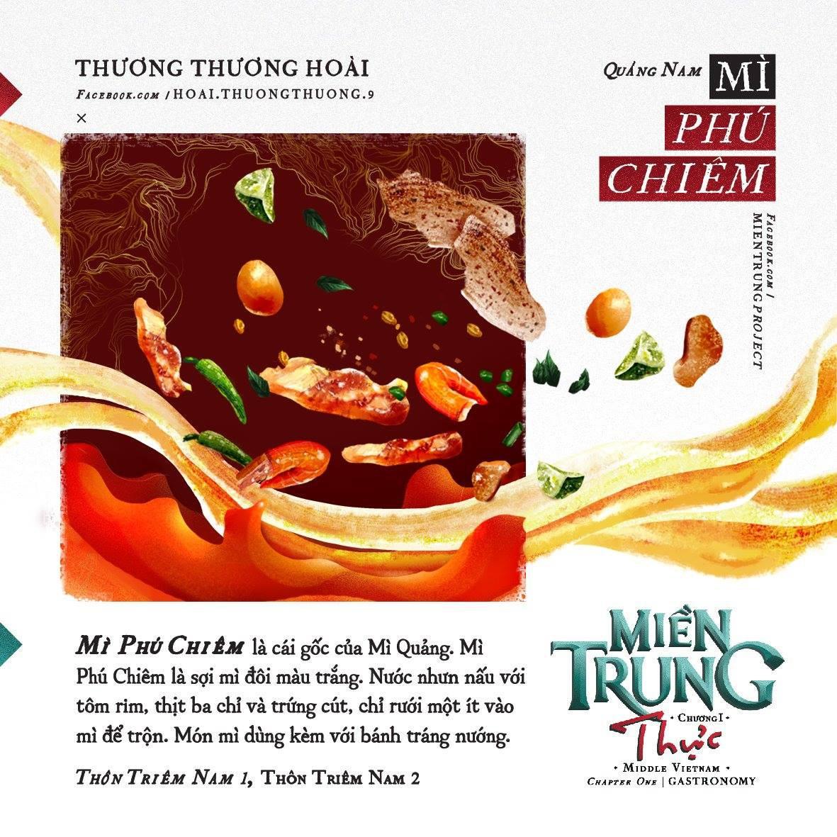 Ấn tượng với những món ăn của khúc ruột miền Trung Quảng Nam qua bộ tranh dễ thương - Ảnh 6.