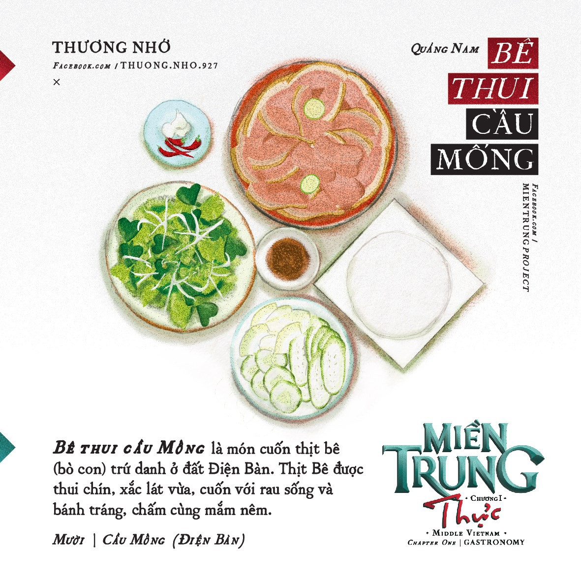 Ấn tượng với những món ăn của khúc ruột miền Trung Quảng Nam qua bộ tranh dễ thương - Ảnh 8.