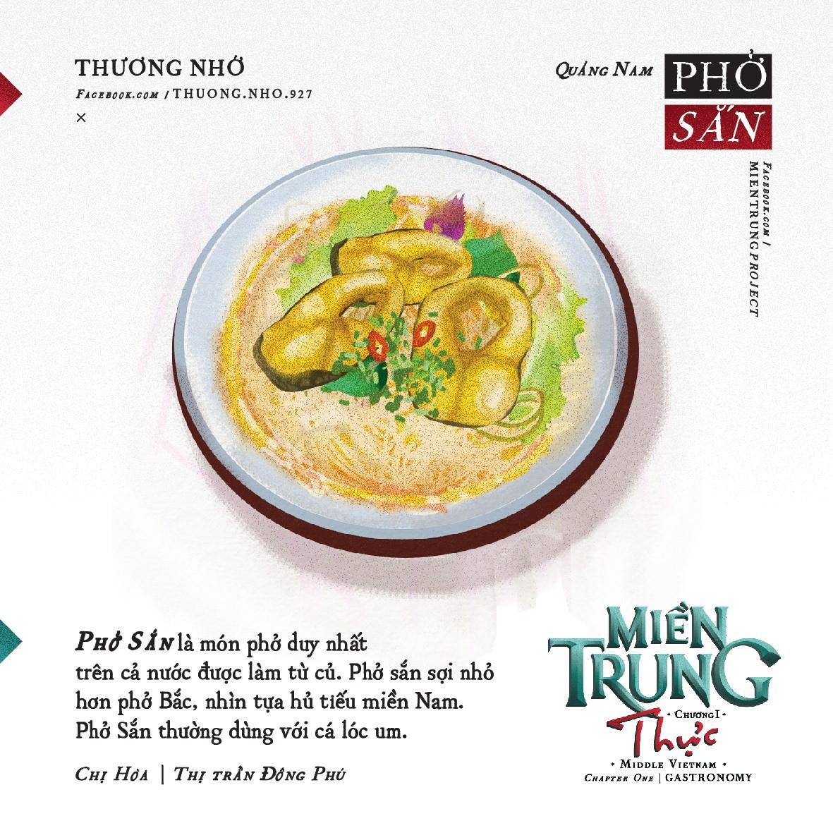 Ấn tượng với những món ăn của khúc ruột miền Trung Quảng Nam qua bộ tranh dễ thương - Ảnh 10.