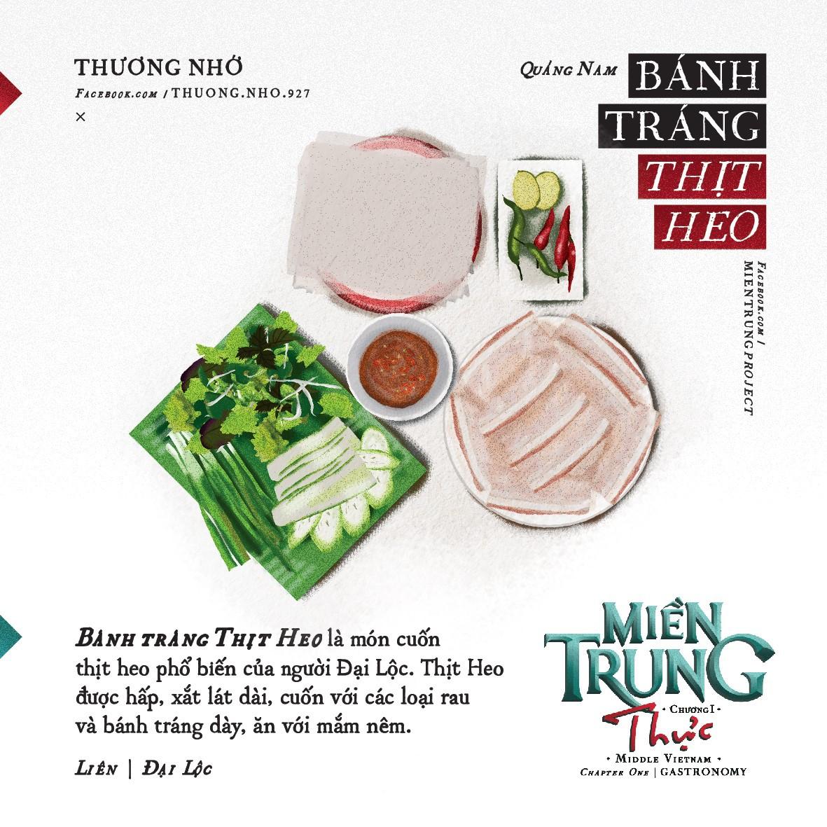 Ấn tượng với những món ăn của khúc ruột miền Trung Quảng Nam qua bộ tranh dễ thương - Ảnh 12.