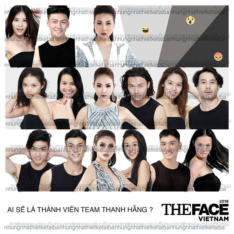 Cận giờ lên sóng, The Face Vietnam đã bị lộ gần hết đội hình thí sinh ở 3 team? - Ảnh 1.