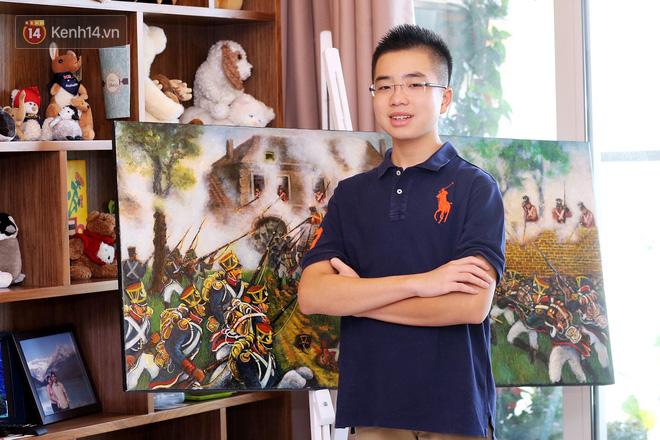 Gặp gỡ cậu bé 13 tuổi đạt TOEFL 109/120, thực hiện dự án Lịch sử tái hiện 10 trận đánh nổi tiếng thế giới - Ảnh 3.