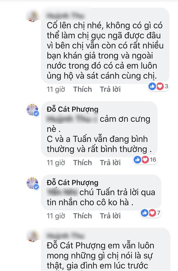 Phản ứng của Cát Phượng giữa tin đồn Kiều Minh Tuấn đang hẹn hò An Nguy, đưa bạn gái mới về quê nghỉ lễ? - Ảnh 4.