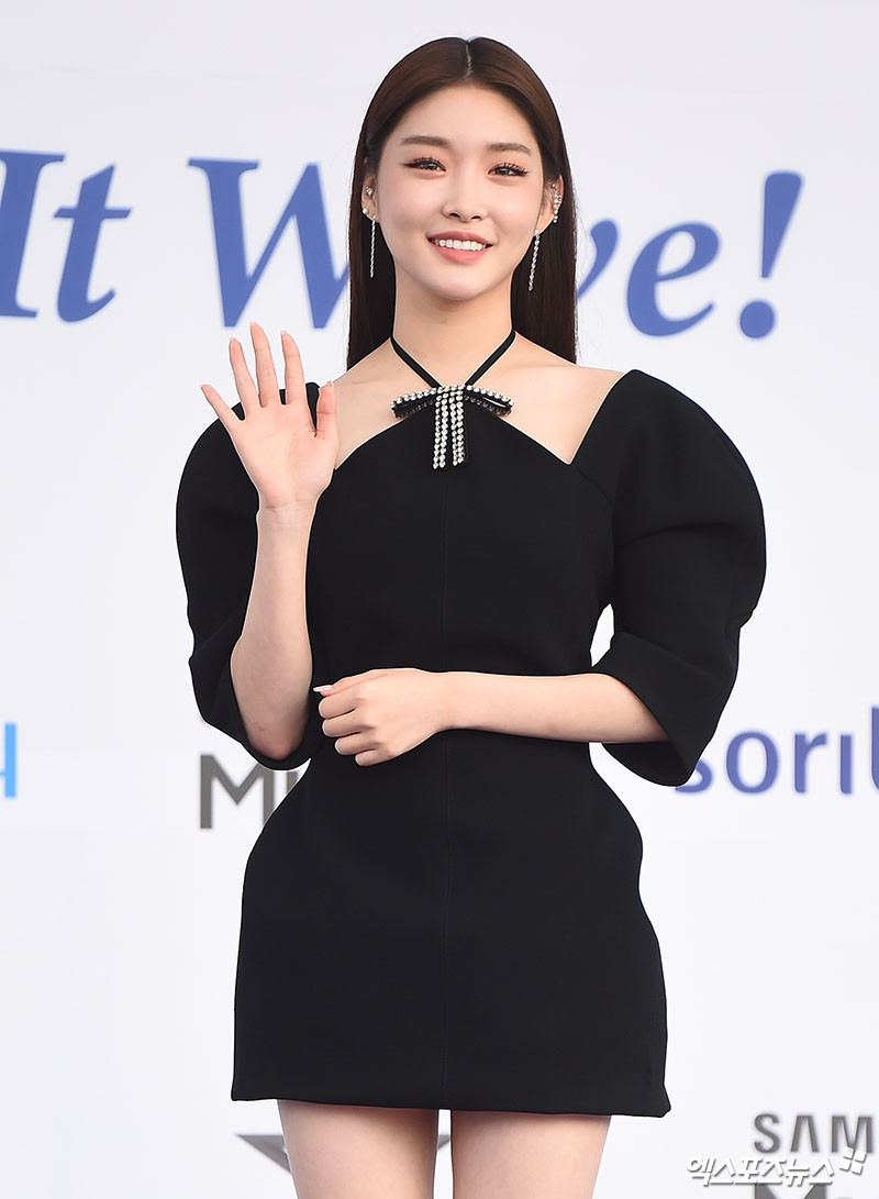 """Xinh xắn lại còn hack dáng, chẳng trách Jessica, Seohyun (SNSD), Jisoo (Black Pink) và Chungha đều cùng """"đối đầu"""" với mẫu váy này - Ảnh 6."""