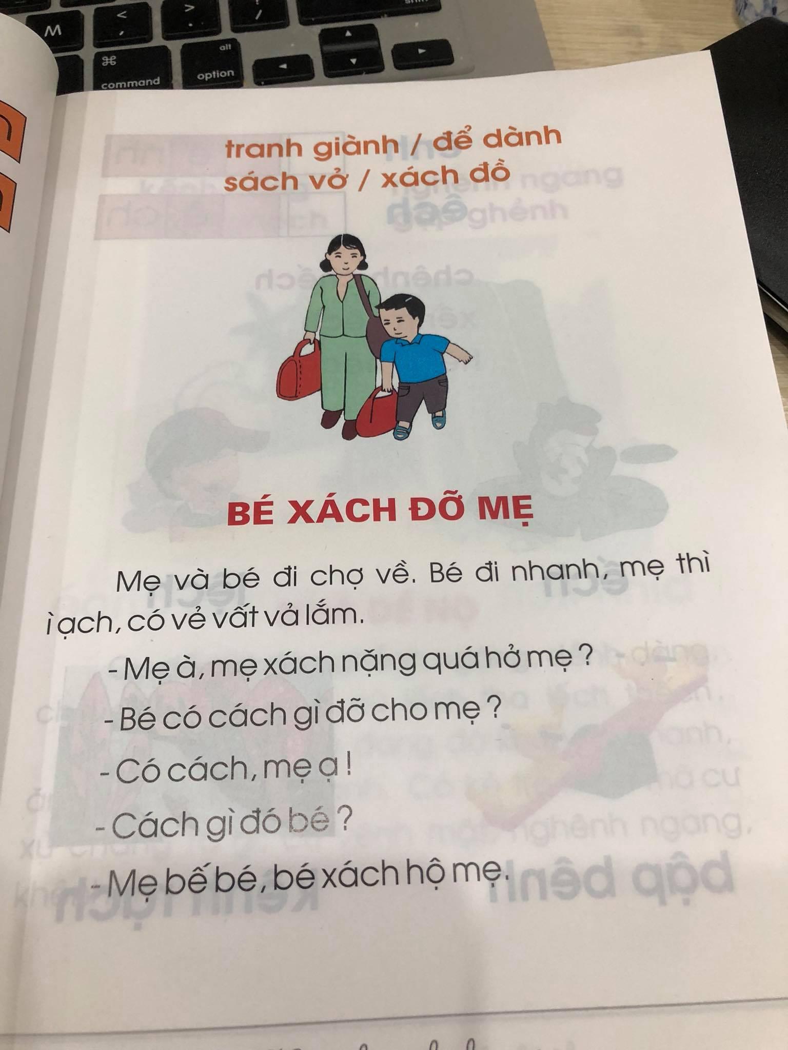 Ngày khai giảng, phụ huynh lo ngại về nội dung sách Tiếng Việt lớp 1 - Ảnh 6.