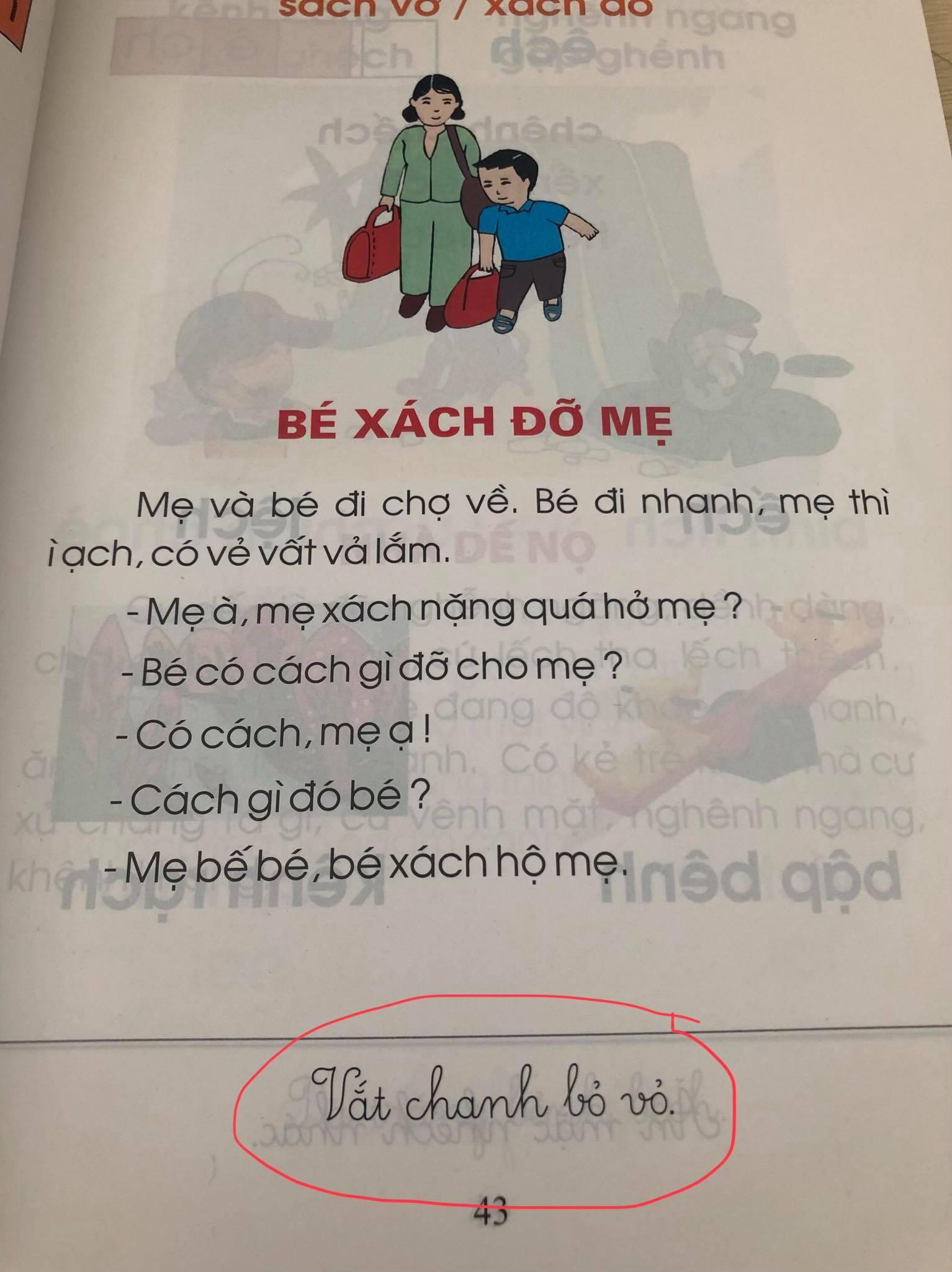 Ngày khai giảng, phụ huynh lo ngại về nội dung sách Tiếng Việt lớp 1 - Ảnh 3.