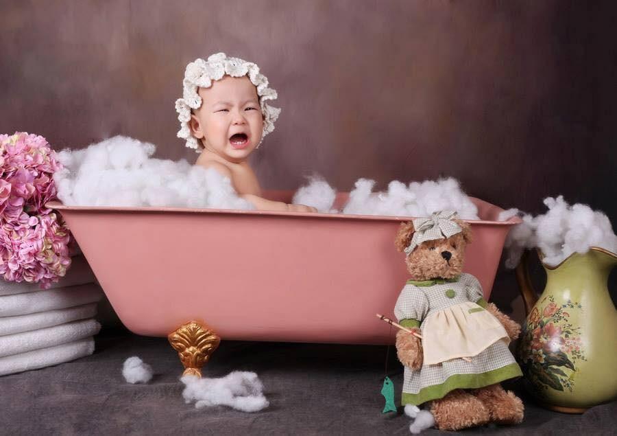 Khi bố mẹ cho đi chụp hình và các mẫu nhí không chịu hợp tác thì kết quả sẽ khiến nhiều người bật cười nghiêng ngả - Ảnh 3.