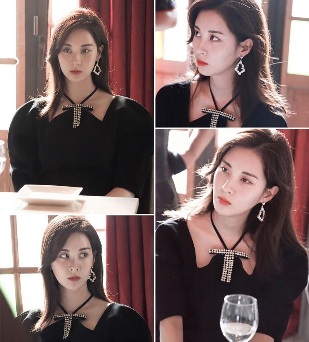 """Xinh xắn lại còn hack dáng, chẳng trách Jessica, Seohyun (SNSD), Jisoo (Black Pink) và Chungha đều cùng """"đối đầu"""" với mẫu váy này - Ảnh 4."""