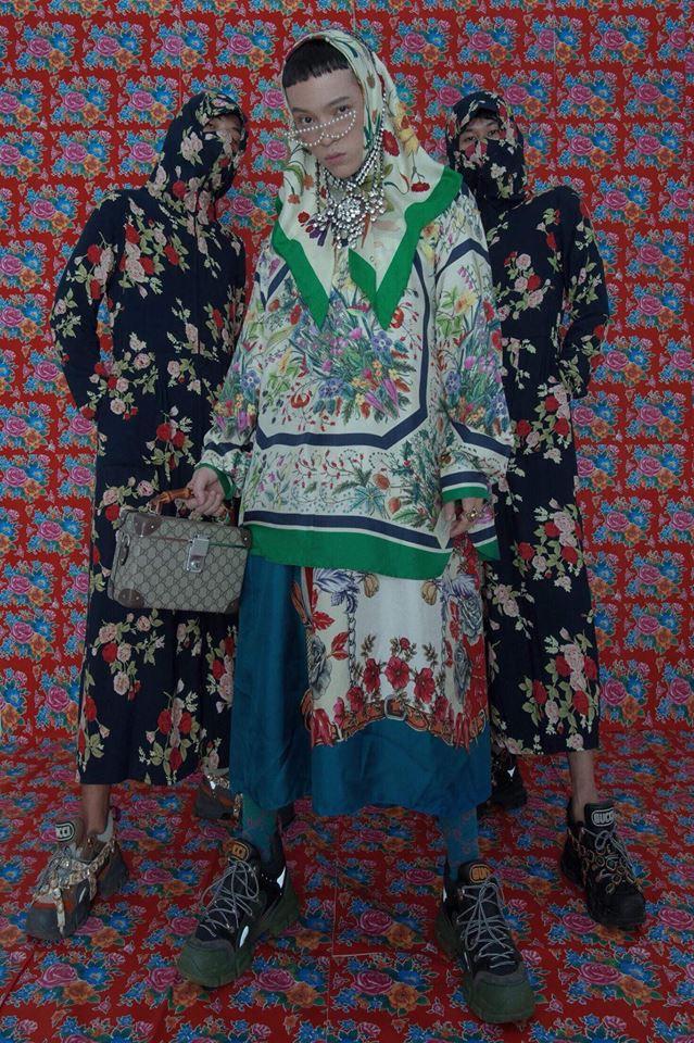 Từ Kế Hậu Xa Thi Mạn đến Phí Phương Anh, Kelbin, Salim khiến bạn phải công nhận: style bà già bán gà đang là xu hướng đích thực! - Ảnh 5.