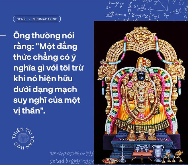 Thiên tài toán học Srinivasa Ramanujan, người đàn ông biết đếm tới vô tận - Ảnh 12.