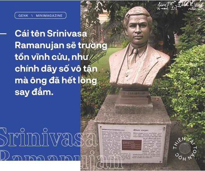 Thiên tài toán học Srinivasa Ramanujan, người đàn ông biết đếm tới vô tận - Ảnh 16.
