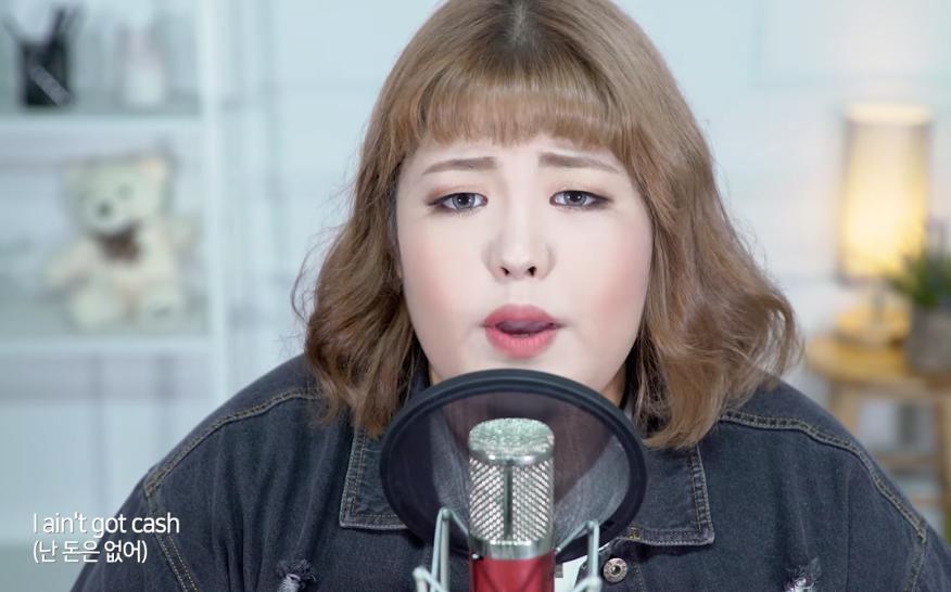 Thánh ăn nặng 130kg nổi tiếng Hàn Quốc tung clip cover với giọng hát đỉnh cao hút 1,4 triệu view - Ảnh 2.