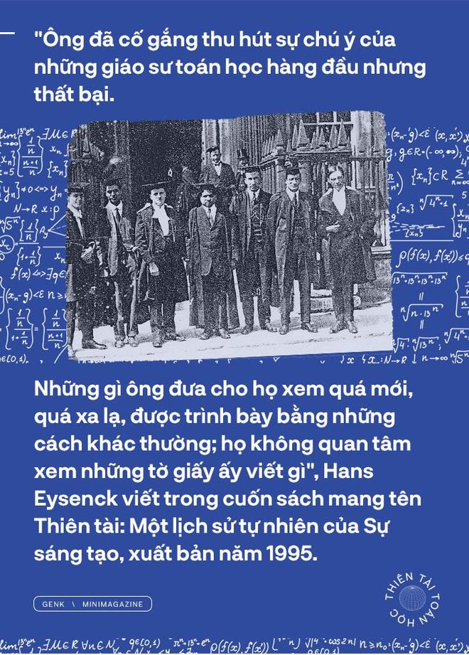 Thiên tài toán học Srinivasa Ramanujan, người đàn ông biết đếm tới vô tận - Ảnh 2.