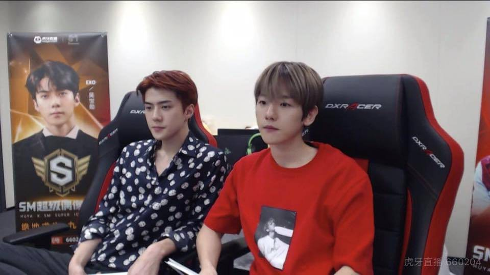 Có idol nào khổ như Baekhyun (EXO), bị cậu em Sehun (EXO) và fan... đánh hội đồng trong game online - Ảnh 1.