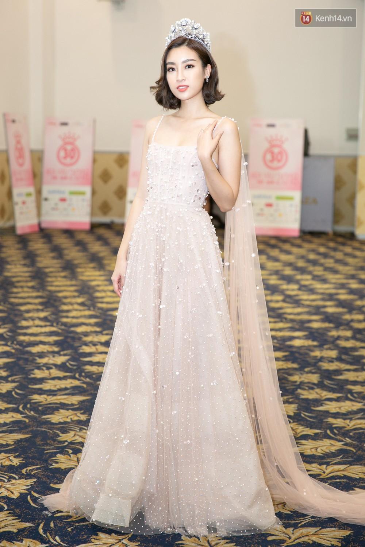 Tốn công thêm thắt, nào ngờ Hoa hậu Mỹ Linh vẫn không tránh khỏi cuộc đụng hàng với Chi Pu - Ảnh 2.