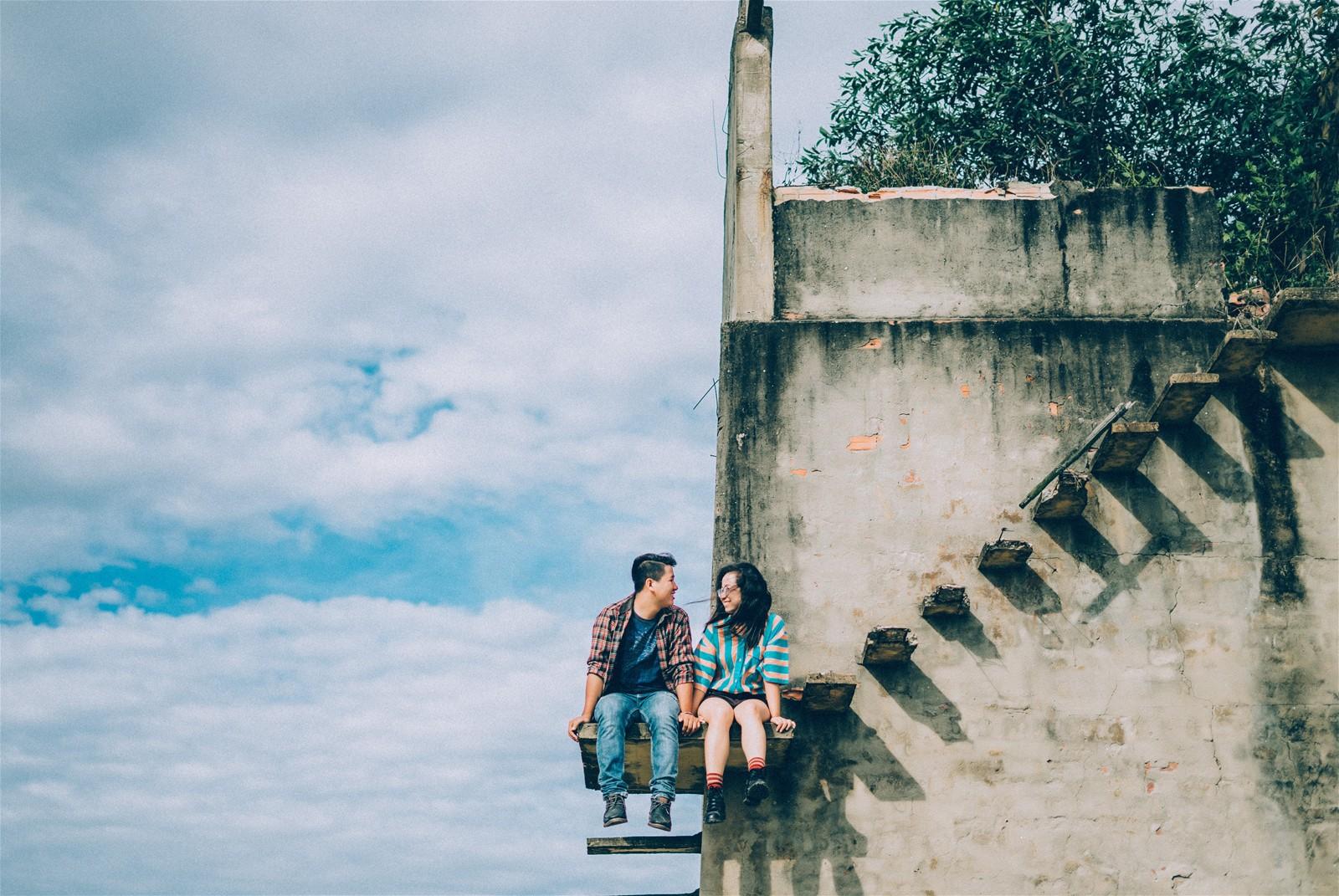 Dân tình đổ xô tới chụp ảnh sống ảo ở nấc thang lên thiên đường chỉ