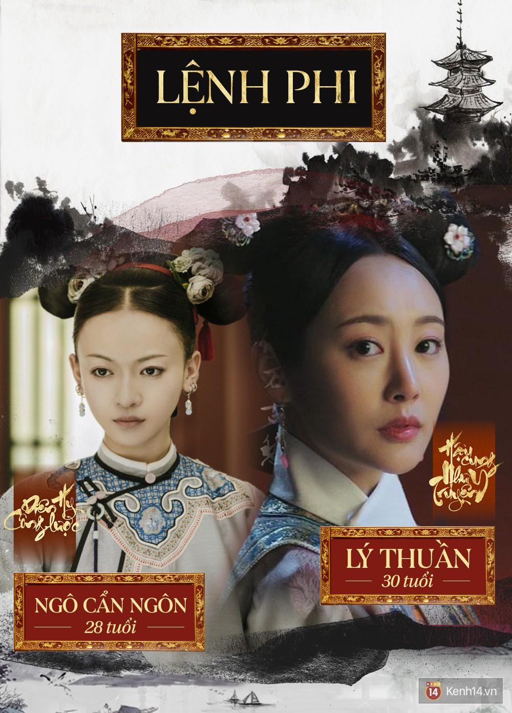 So kè nhan sắc đời thực của 8 cặp mỹ nhân đóng cùng 1 nhân vật trong Diên Hi Công Lược và Như Ý Truyện - Ảnh 25.