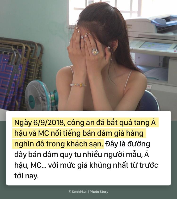 Toàn cảnh về đường dây bán dâm lớn nhất Việt Nam, tập hợp toàn Á hậu, MC, người mẫu - Ảnh 1.
