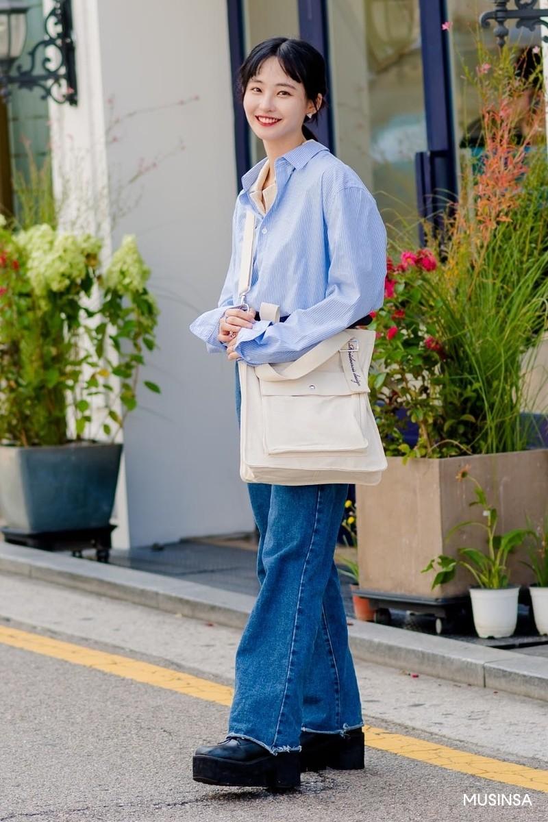 Giới trẻ Hàn khoe street style ấm áp đẹp bá cháy, đảm bảo bạn sẽ chỉ muốn trời nhanh lạnh để diện theo - Ảnh 5.