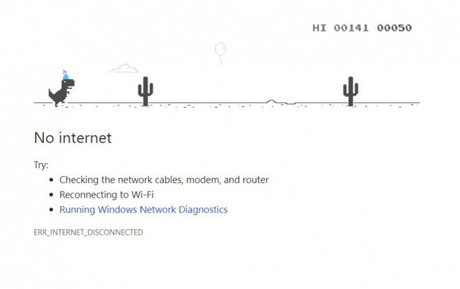 Sau 4 năm, Google cuối cùng cũng giải thích vì sao lại có game khủng long trên Chrome khi đứt net - Ảnh 1.