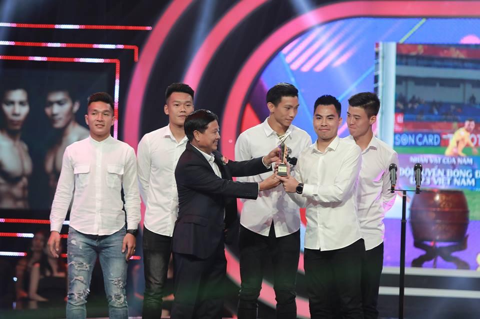 Đức Huy U23 Việt Nam vượt Xuân Trường trở thành Nhân vật của năm - Ảnh 1.