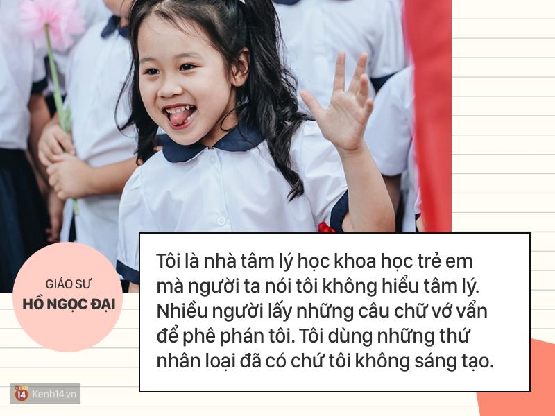 Clip những phát ngôn ấn tượng của GS Hồ Ngọc Đại: Làm giáo dục thì xin khẳng định không ai giỏi hơn tôi! - Ảnh 3.