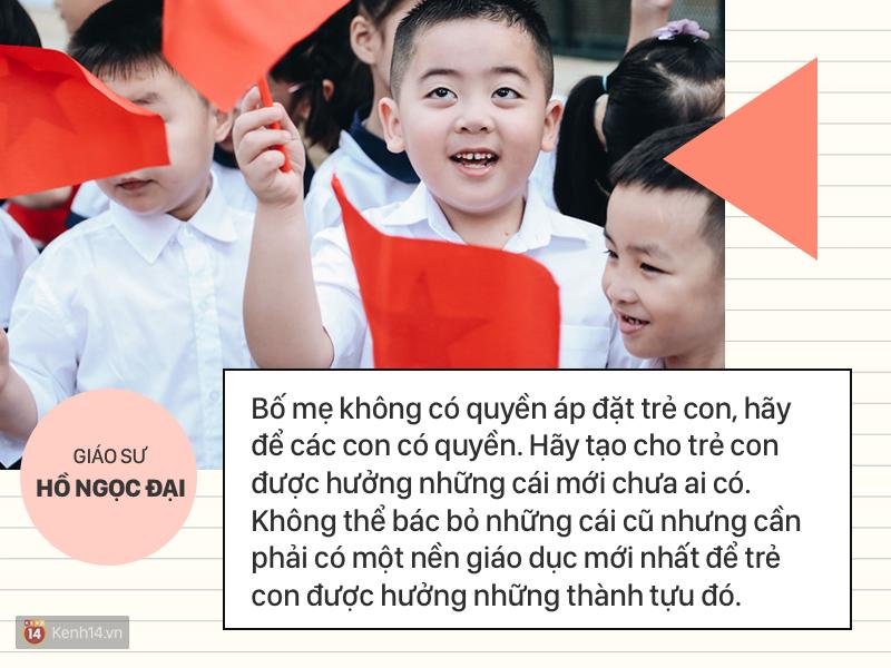 Clip những phát ngôn ấn tượng của GS Hồ Ngọc Đại: Làm giáo dục thì xin khẳng định không ai giỏi hơn tôi! - Ảnh 6.
